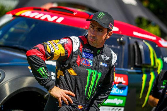 Tomo Tumalovičiaus nuotr./MINI komandos automobilių bandymai prieš Dakaro startą
