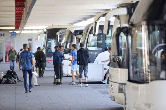Irmanto Gelūno / 15min nuotr./Vilniaus autobusų stotis