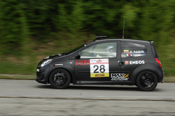 """Flameris Racing Eneos"" nuotr./""Rally di Reggello"" Italijoje"