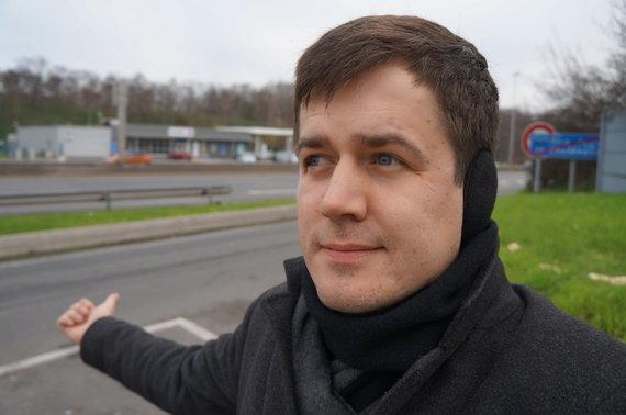 Marijaus Gailiaus nuotr./Nuo Paryžiaus išmėginau autostopą, bet antrosios dienos vakarą strigau Belgijos-Vokietijos pasienyje