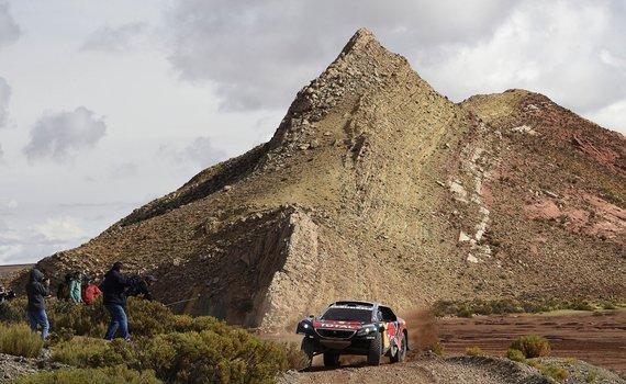 """""""Scanpix"""" nuotr./4-as Dakaro ralio etapas"""