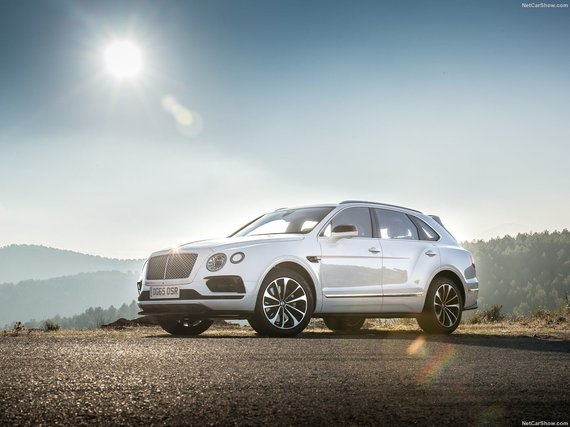 "7. ""Bentley Bentayga"""