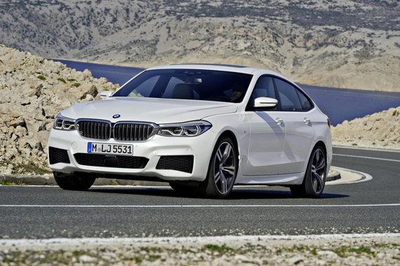 """BMW nuotr./Naujasis """"BMW 6 Grand Turismo"""""""