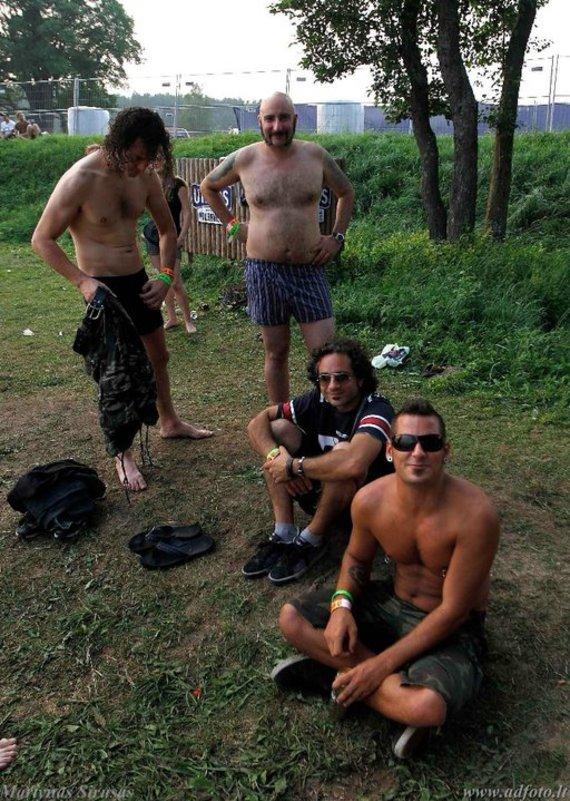 "Asmeninio albumo nuotr./""Breed 77"" festivalyje ""Roko naktys"""