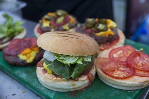 "Andrey Motorichev nuotr./""Vilnius Burger Fest"" akimirka"