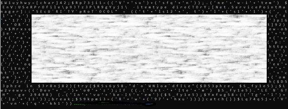 """Dalinai dekoduotas """"powershell"""" kodas"""