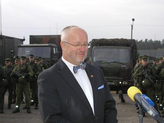 Vilmos Danauskienės/15min.lt nuotr./Prezidentė Dalia Grybauskaitė apsilankė Didžiosios kunigaikštienės Birutės ulonų batalione Alytuje