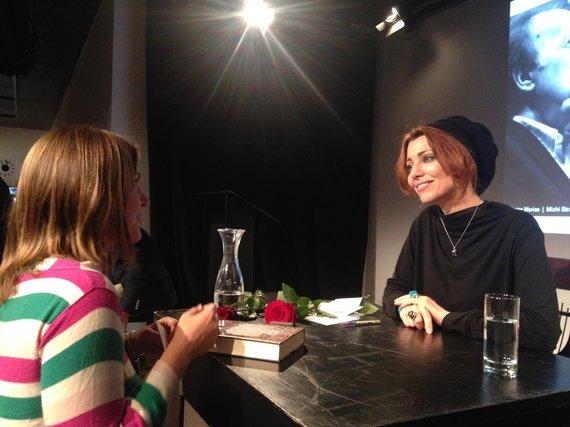Linos Ever nuotr./ Elif Shafak Berlyno literatūros festivalyje