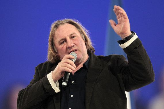 """""""Reuters""""/""""Scanpix"""" nuotr./Prancūzų aktorius Gerard'as Depardieu"""
