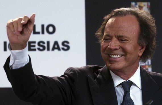 """Reuters""/""Scanpix"" nuotr./Julio Iglesias"