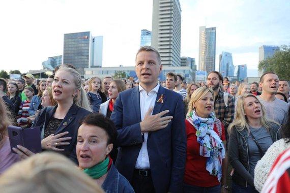 """S.Žiūros nuotr./Šimtmečio piknikas """"Vilnius – Lietuvai"""""""
