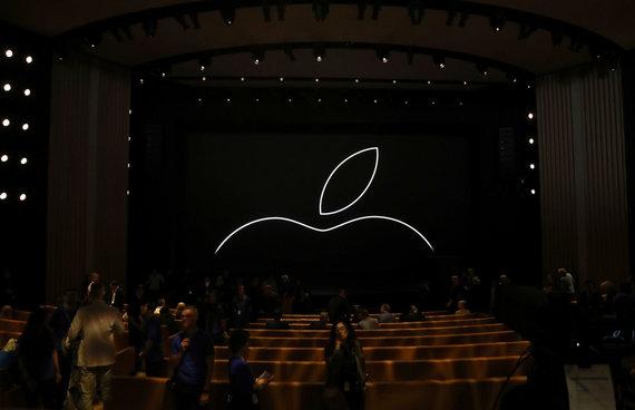 """AFP/""""Scanpix"""" nuotr./""""Apple"""" naujų įrenginių pristatymas"""