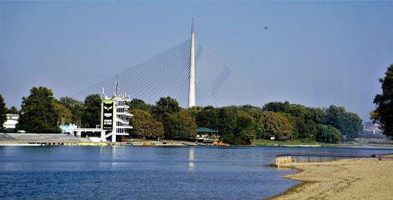 Tomo Pociaus nuotr./Sava ežeras, Belgradas, Serbija