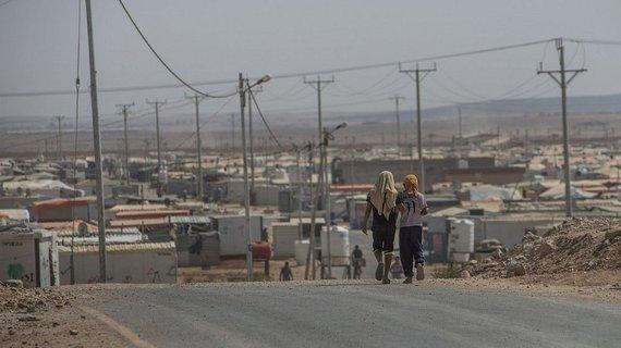 LRT/P.Biro nuotr./Sirijos pabėgėlių stovykla Zaatari, Jordanijoje