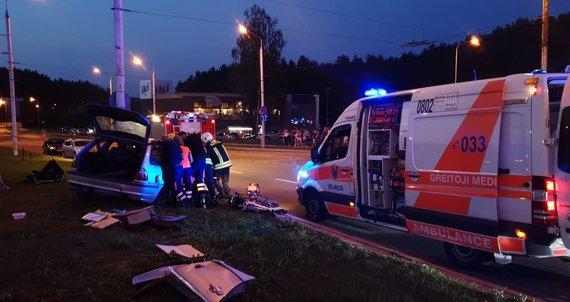Arno Strumilos nuotr./BMW vairuotoją sulaikė policija