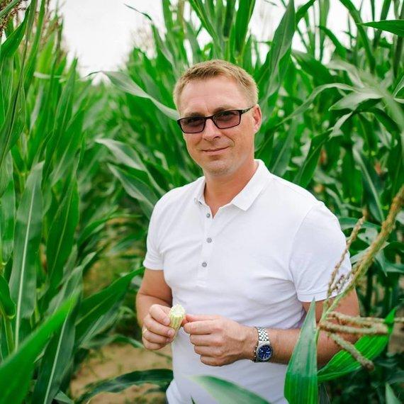 rinkosaikste.lt nuotr./Kėdainių krašto ūkininkas Aurimas Snarskis