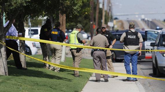 """AFP/""""Scanpix"""" nuotr./Šaudynės Teksase"""