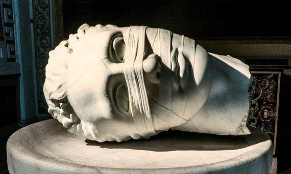 Asmeninio archyvo nuotr./Švento Jono galva Romos muziejuje