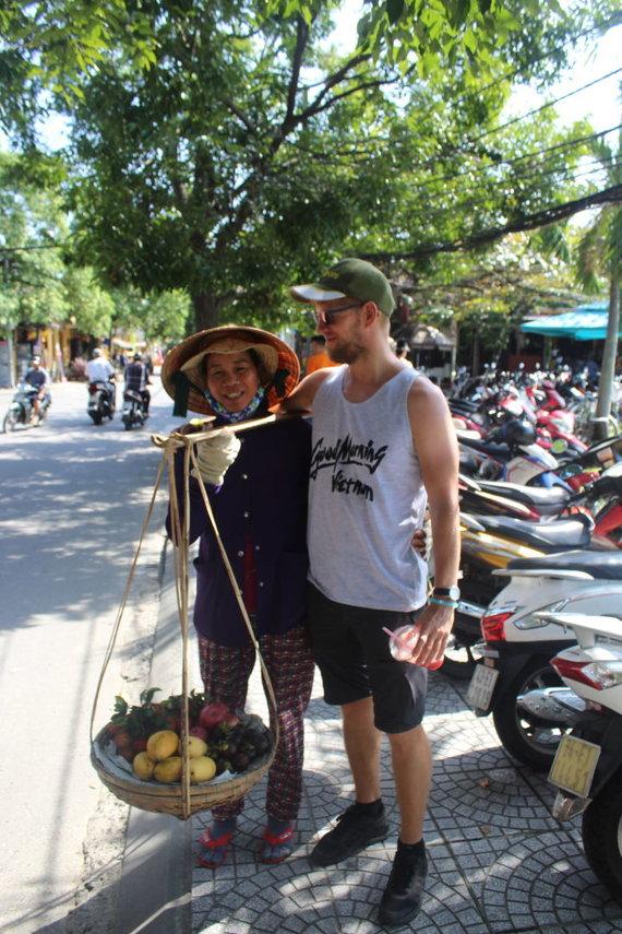 Rūtos Šulcienės nuotr./Gatvės maistas Vietname
