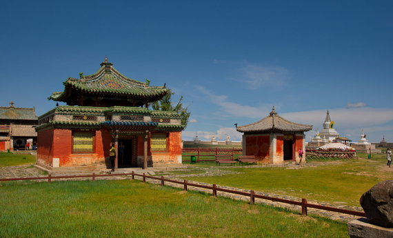 123RF.com nuotr./Erdene Zuu vienuolynas