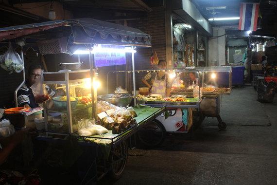 Rūtos Šulcienės nuotr./Maisto turgus Tailande