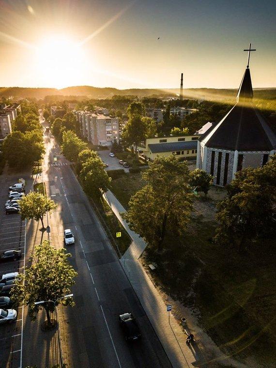 Vilniaus arkivyskupijos nuotr./Grigiškių Šventosios Dvasios bažnyčia