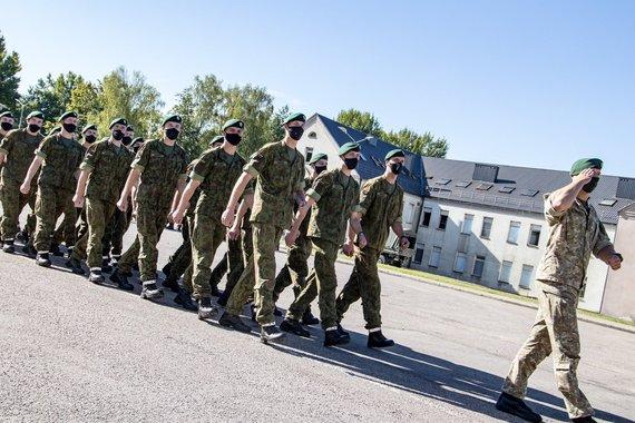 Karaliaus Mindaugo husarų bataliono nuotraukos nuotr./Atsargos kariai