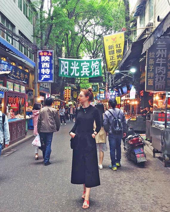 Asmeninio archyvo/ve.lt nuotr./Kinijoje