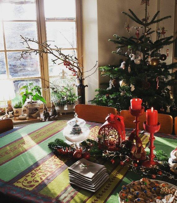 Ji24.lt skaitytojos nuotr./Rūtos T. (Klaipėda) kalėdinė dekoracija