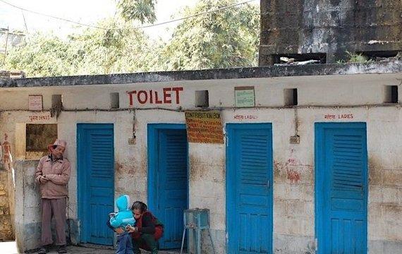 E.Digrytės nuotr./Pakelės tualetas Nepale
