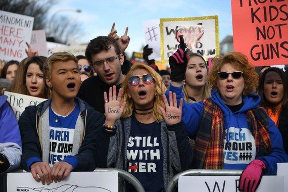 """Reuters""/""Scanpix"" nuotr./Protestai Vašingtone"