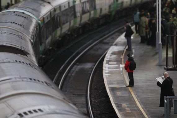 """Reuters""/""Scanpix"" nuotr./Londono metro"