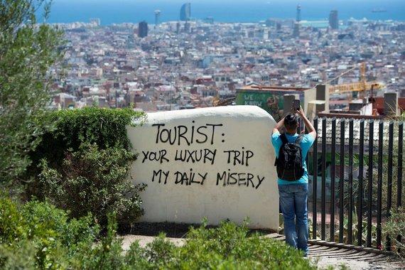 """AFP/""""Scanpix"""" nuotr./Barselona: miestas jūsų jau nekenčia, bet vis tiek bandys pasipelnyti"""