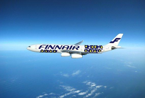 Finnair nuotr./Ekskursija po pasaulio dizaino sostinę: aguonomis margintas Helsinkio stiklapūčių dangus