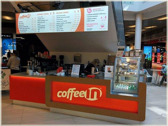 """Lietuvių """"Coffee Inn"""" ir estų """"Coffee In"""" paskyrų feisbuke nuotr./Estų """"Coffee In"""""""