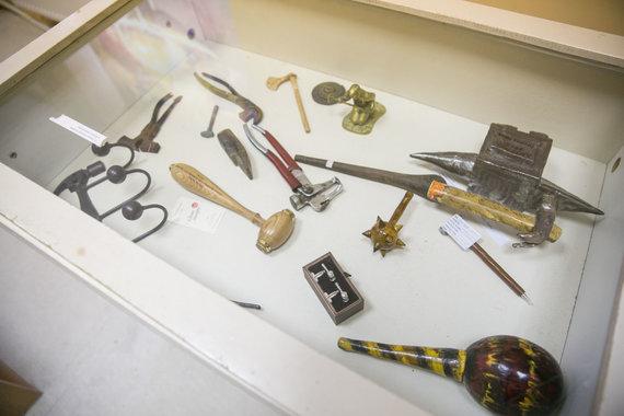 Juliaus Kalinsko / 15min nuotr./Plaktukai iš muziejaus Ignalinos rajone, Linkmenyse