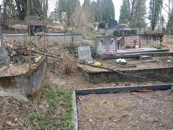 15min skaitytojo nuotr./Rokantiškių kapinės