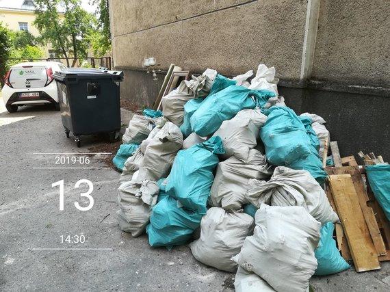 VASA nuotr./Statybinės atliekos