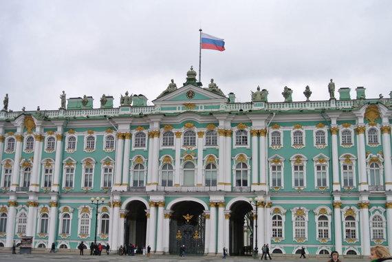 15min.lt/Violetos Grigaliūnaitės nuotr./Sankt Peterburgo Žiemos rūmai