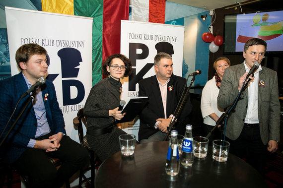 zw.lt nuotr./Lenkijos nepriklausomybės dienos minėjimas Lenkų diskusijų klube