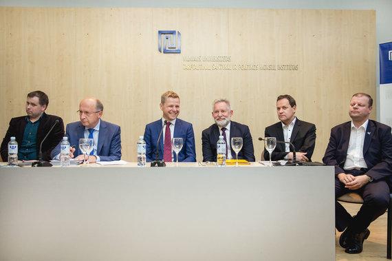 zw.lt nuotr./Lietuvos politikų diskusiją Lenkų diskusijų klube