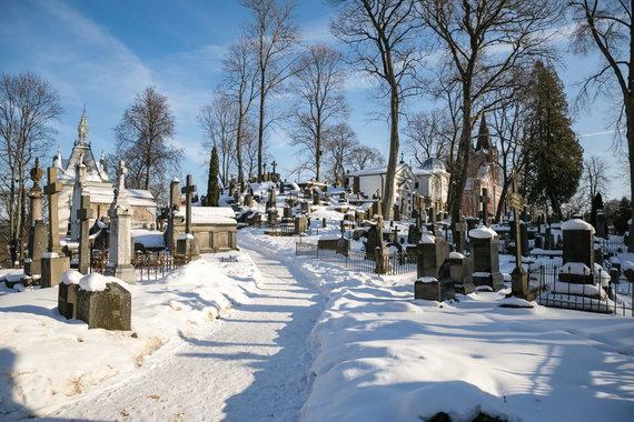 Sauliaus Žiūros nuotr./Rasų kapinės