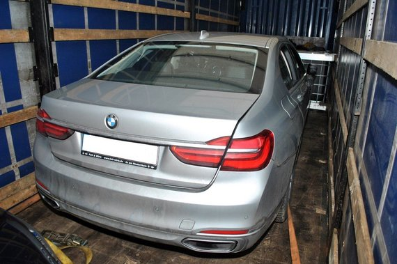 Podlaski OSG nuotr./Vogtas BMW