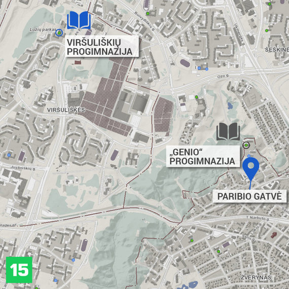 15min nuotr./Žemėlapis
