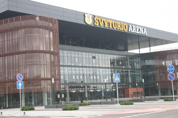Aurelijos Kripaitės/15min.lt nuotr. /Švyturio arena
