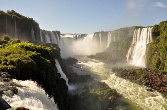 Iguazu kriokliai Brazilijoje