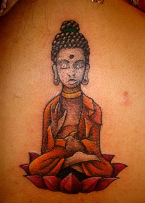 Tattoo99.co.uk nuotr./Už Budos tatuiruotę Šri Lankoje gresia baudos