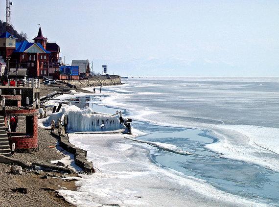 Wikimedia.org/Creativecommons/Baikalo ežeras žiemą – nepaprasta kelionė į ledo karalystę