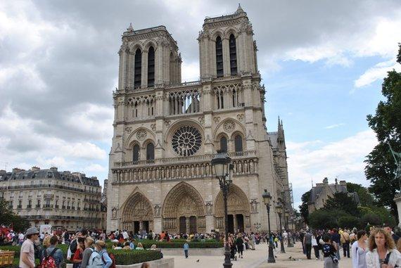 Antano Siručio nuotr./Paryžiaus Dievo Motinos katedra