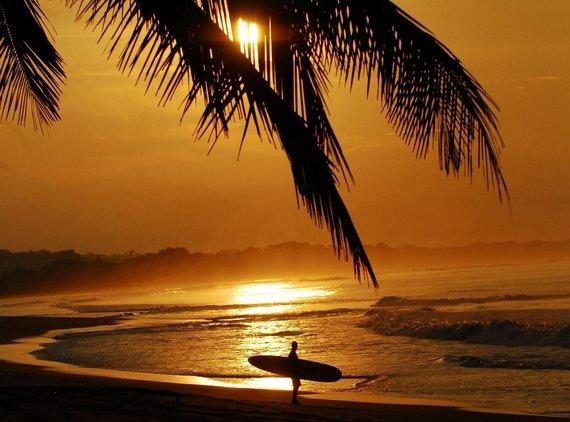 123rf.com nuotr./Kosta Rikos paplūdimys